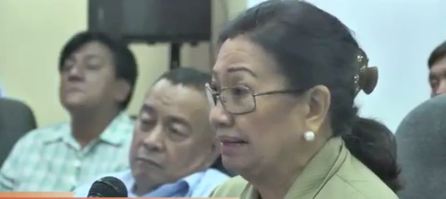 'CHARGE GWEN FOR RENT.' Acting Cebu Governor Agnes Magpale jokes that the provincial government should charge Garcia for using the capitol and its facilities despite a suspension order against her.