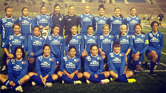 SWEET VICTORY. The Malditas won the LA Viking Cup after besting the California Cosmos in penalties. Photo form Marielle Benitez's Twitter account.