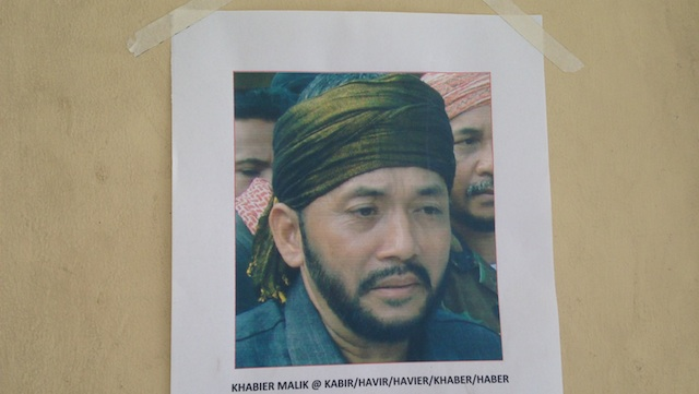 MISUARI'S TOP LIEUTENANT: Ustadz Habier Malik led hundreds of followers of MNLF founder Nur Misuari in the Zamboanga City standoff