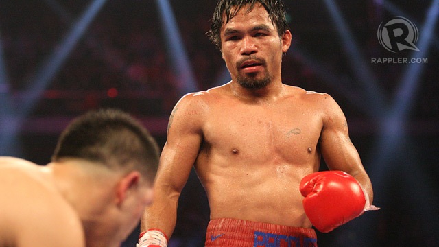 Pacquiao Unpaid 18 3m Taxes In The Us