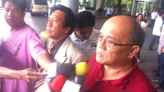 EYEWITNESS. Supt Hansel Marantan's lawyers insist they have an eyewitness that will testify that incident was a shootout. Photo by Natashya Gutierrez.
