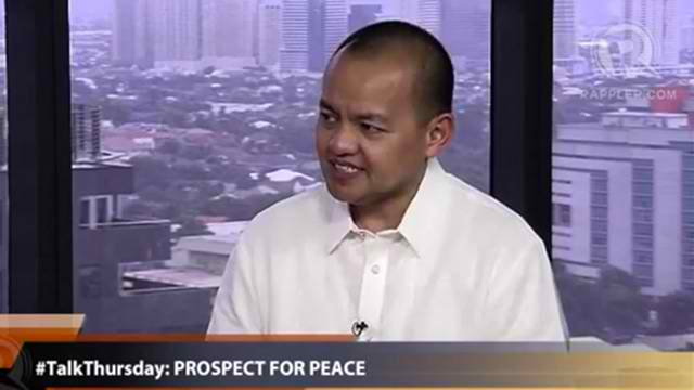 LEONEN. From the government peace panel to the SC?