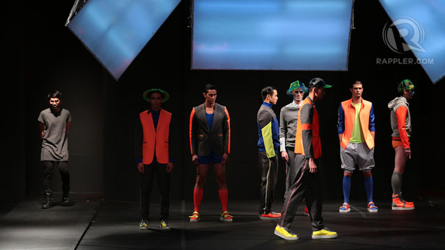 NEON BRIGHTS FOR GUYS. And why not? Designer Bang Pineda shows us how. All photos by Edric Chen