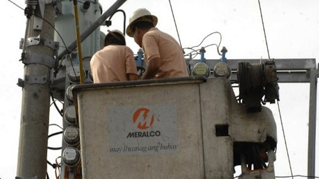 CHARGES UP. Meralco electricity bills are expected to rise in November on higher charges. AFP PHOTO/Jay Directo