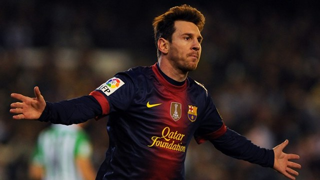 BEST OF HIS GENERATION. Barcelona's Lionel Messi is considered the best football player in the world. File photo by AFP.