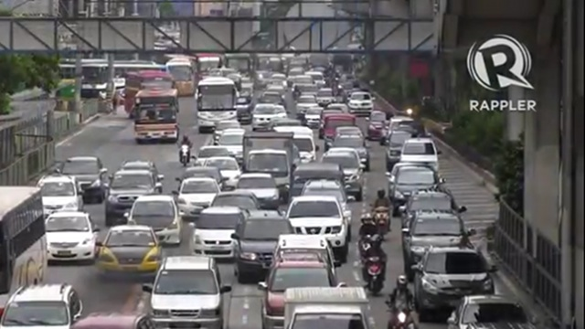 article about traffic in metro manila