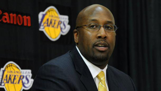 FIRED. Head coach Mike Brown failed to guide the Lakers to a strong start in the NBA season. Photo from Brown's Facebook Page.