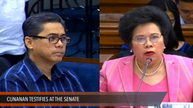 Miriam: Enrile couple blaming Gigi for scam