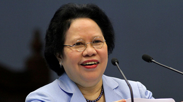 MAGNA CARTA. Sen Miriam Defensor Santiago proposes a Magna Carta for Philippine Internet Freedom to replace the controversial Cybercrime Prevention Act. File photo by Joseph Vidal/Senate PRIB