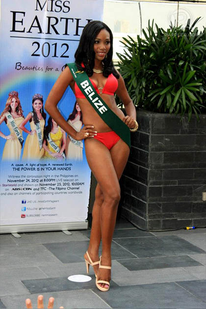 MISS BELIZE Jessel Lauriano