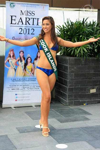 MISS COOK ISLANDS Teuira Napa