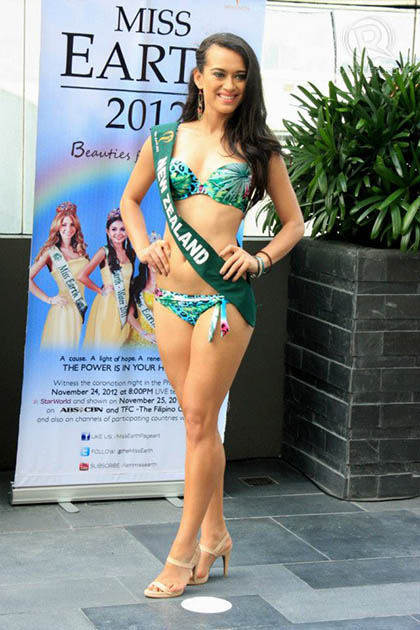 MISS NEW ZEALAND Gloria Ofa Blake