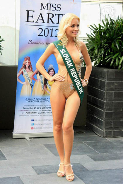 MISS SLOVAK REPUBLIC Martina Gresova