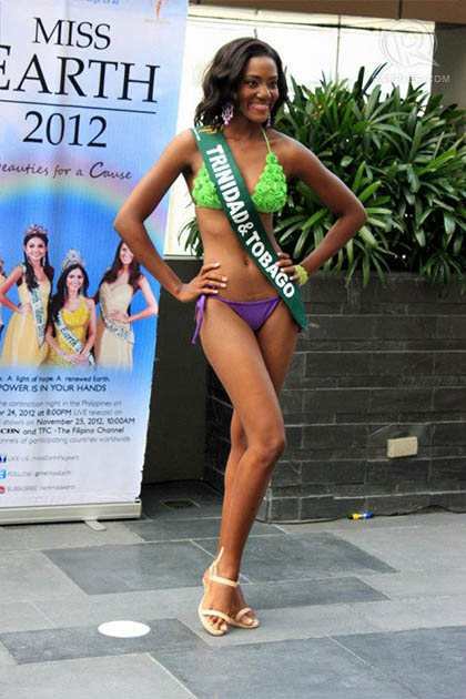 MISS TRINIDAD AND TOBAGO Amryl Nurse