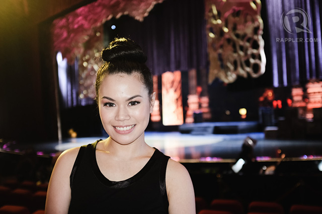 'I grew up singing the songs of Miss Saigon,' Tanya Manalang