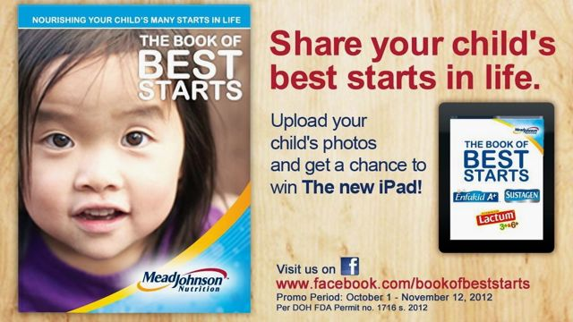 SHARE YOUR CHILD's BEST starts in life with Mead Johnson Nutrition and Rappler
