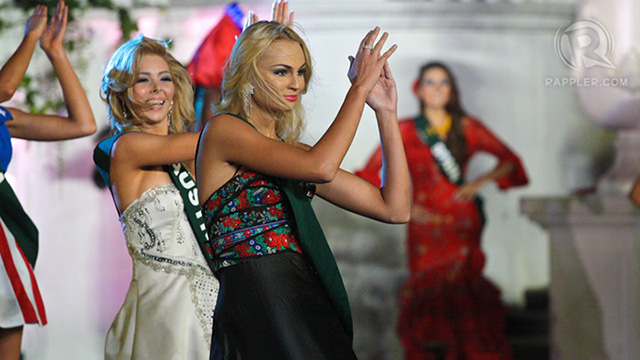 Miss Czech Republic Tereza Fajksova had no idea she was going home a winner later that night