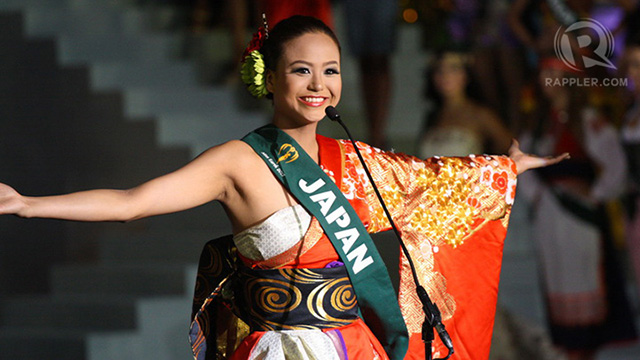 Miss Japan Megumi Noda