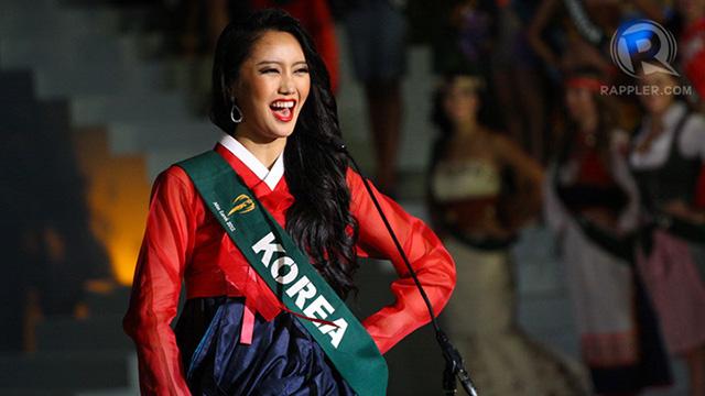 Miss Korea Sara Kim