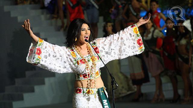 Miss Mexico Lourdes Paola Aguilar