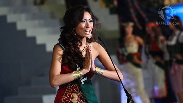 Miss Nepal Nagma Shrestha