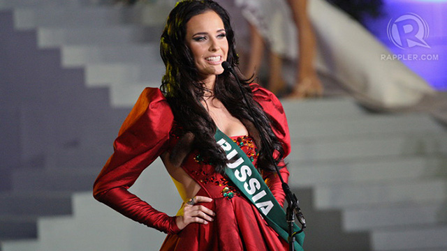 Miss Russia Natalia Pereverzeva