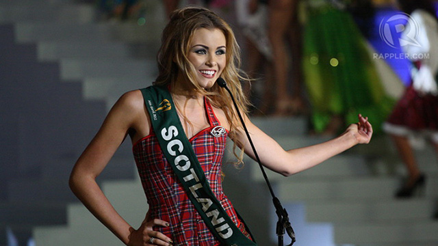 Miss Scotland Sara Pender