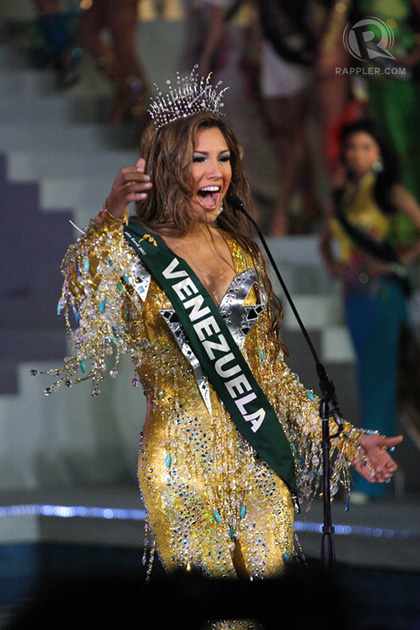 Miss Venezuela Osmariel Villalobos