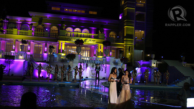 Versailles Palace was a refreshing backdrop for the Miss Earth pageant