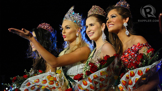 The Miss Earth 2012 winners