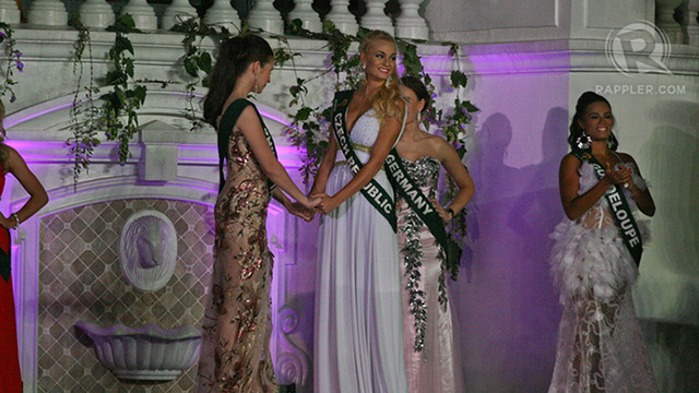 After the first two titles were announced, it boiled down to Miss Philippines and Miss Czech Republic