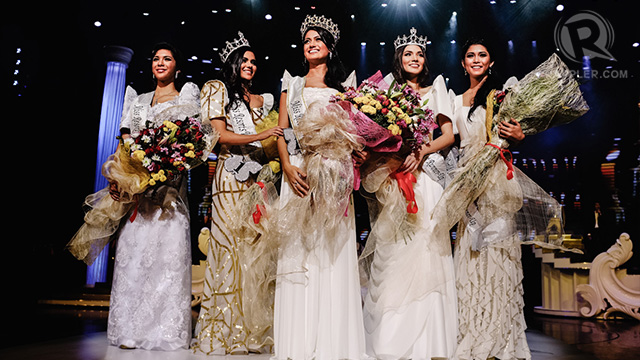 The Miss Resorts World Manila 2012 winners
