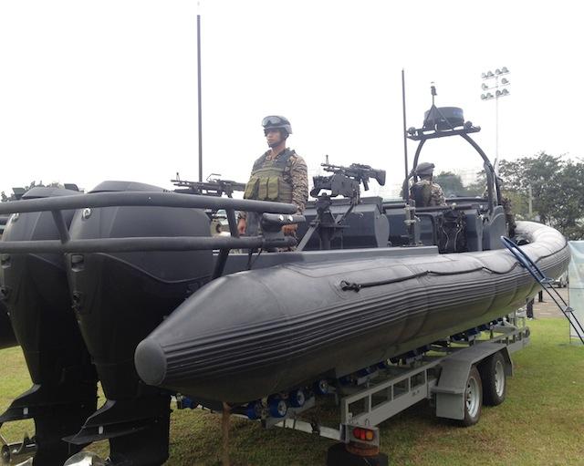 NAVSOG Rigid Hull Inflatable Boat (RHIB)