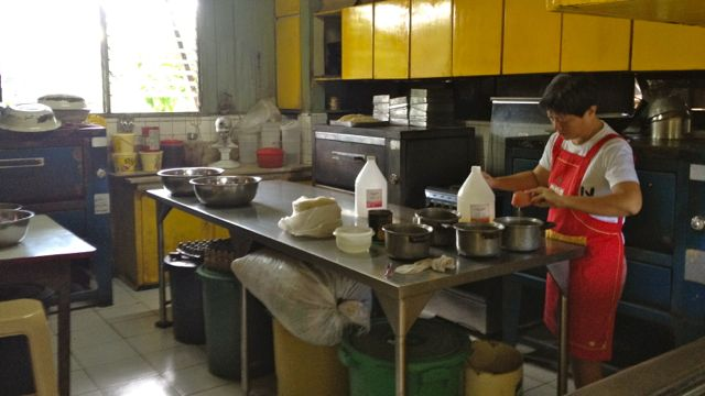 NORA LACSON IN HER mothers kitchen, working on a generations-old recipe