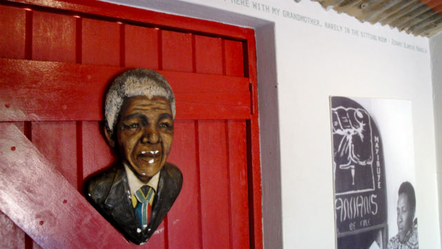 HOME. On Vilakazi street, one can find Mandela's first home which has now been turned into a museum. Photo by Zanele Hlatshwayo