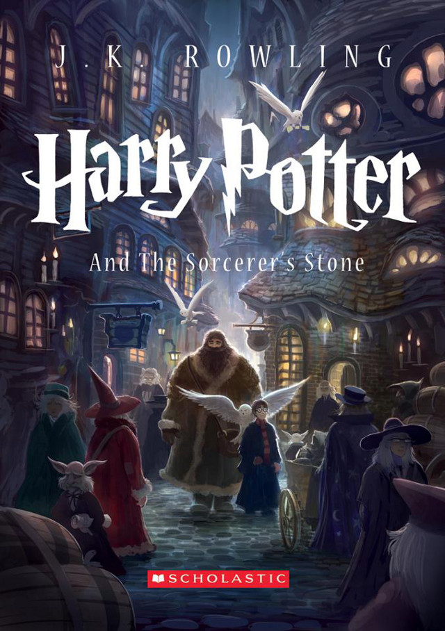 NEW ART, SAME WORLD. Kazu Kibuishi re-imagines the world of Harry Potter. Image from the JK Rowling Facebook page