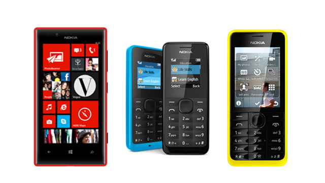 Nokia announces 4 new phones at MWC 2013