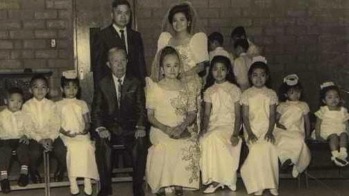 MISSED KUYA. Rene, the writer's eldest brother, is second from left. Photo courtesy of Claire Agbayani