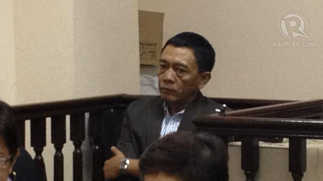 STAR WITNESS. Former Maguindanao provincial administrator Norie Unas testifies that former President Arroyo ordered Ampatuan Sr to ensure a 12-0 victory for her senatorial slate in Maguindanao in 2007. Photo by Paterno Esmaquel II