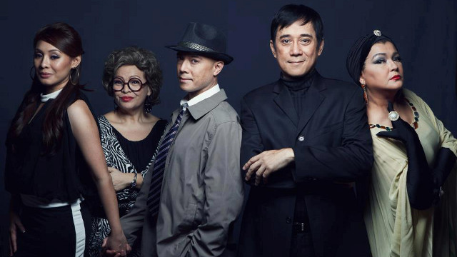 AMAZING CAST. 'No Way to Treat a Lady' stars Carla Guevarra Laforteza, Shiela Francisco, Joel Trinidad, Audie Gemora, and Pinky Marquez. Photo from the Repertory Philippines Facebook page