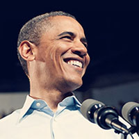 Barack Obama. Photo from his website.