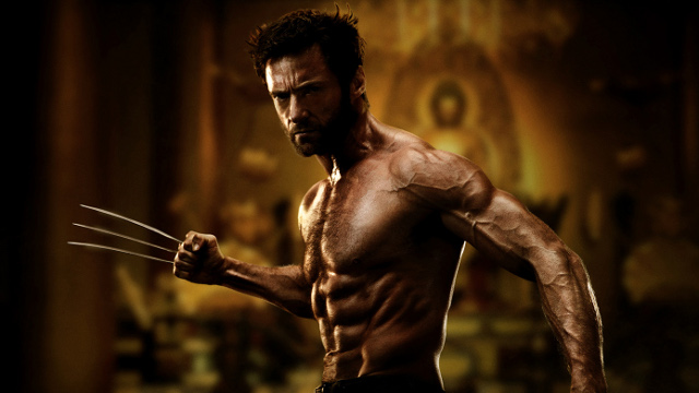 "IT'S CLAWIN' TIME. Hugh Jackman looks sharp again as ""The Wolverine"" Photo by 20th Century Fox"