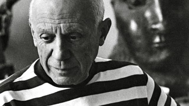THE ARTIST. Pablo Picasso image from Facebook