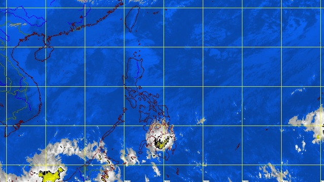 MTSAT ENHANCED-IR Satellite Image as of 1:32 pm, January 19 from Pagasa