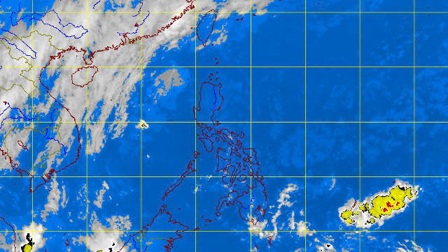 Pagasa satellite image as of 5:32 am