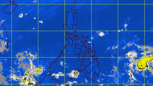 SUNDAY WEATHER. Satellite image courtesy of PAGASA