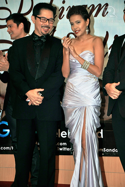 Christopher de Leon and Alessandra de Rossi enjoy a laugh