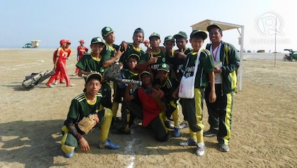 ARMM BASEBALL TEAM. One of the stories I wrote for the Palaro coverage.