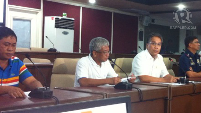 WHISTLE BLOWER. Mayor Rodrigo Orduna links Pangasinan Gov Amado Espino Jr to 'jueteng.' Photo by Natashya Gutierrez