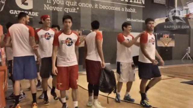 Camp hoping to make it in the PBA. Photo by Adrian Portugal/Rappler